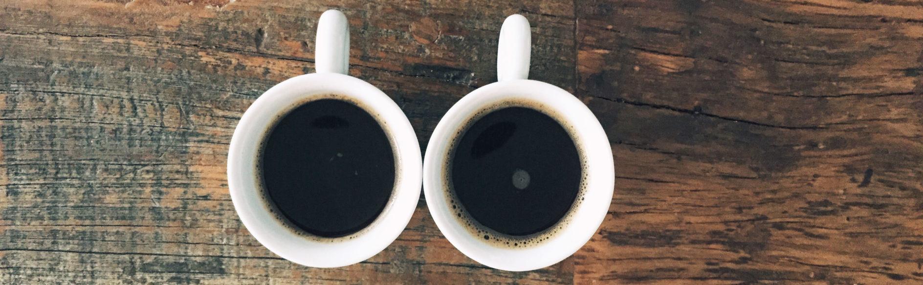 Espresso in cups