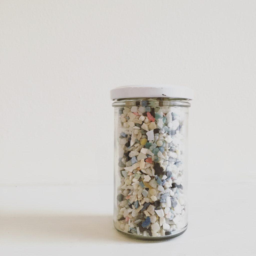 Jar of Ocean Plastic